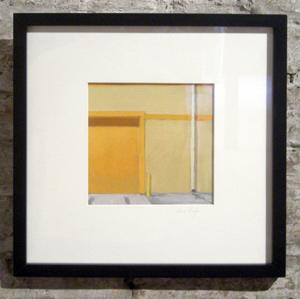 Composition with Orange Door