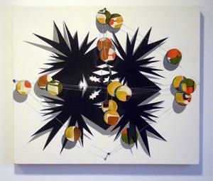Stacie Johnson, Frontside: Starburst with Mirrors