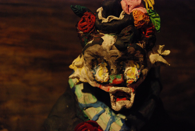 Allison Schulnik, Hobo Clown (still), 2008