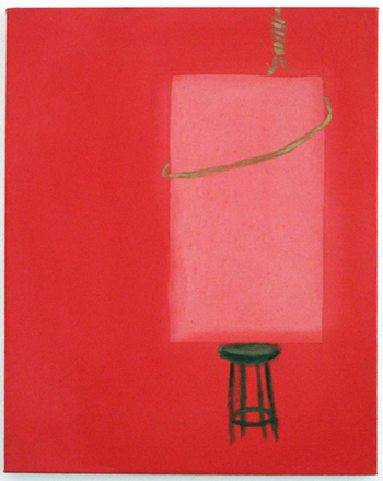 Scott Reeder, Suicidal Shape (Study in Red)