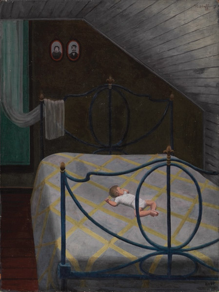 Margo Hoff, Siesta Upstairs