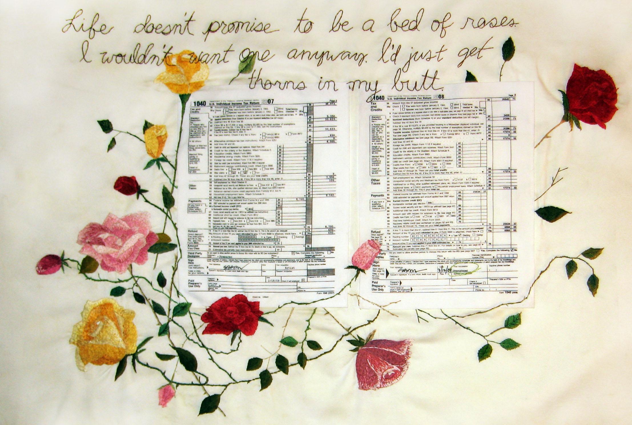 Shawnee Barton, Embroidery