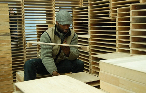 Theaster Gates, Forest for Tea