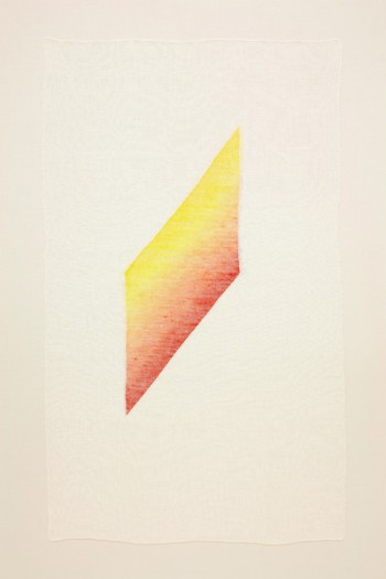 Ruth Laskey, Twill Series ( Bright Yellow / Tangerine )