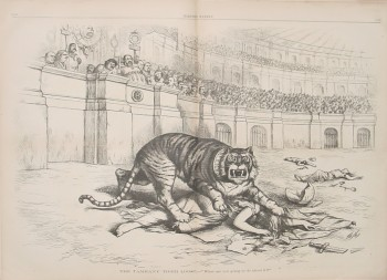 Thomas Nast, The Tammany Tiger Loose