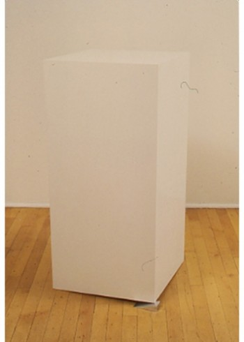 Tony Tasset, Pedestal (leveled)
