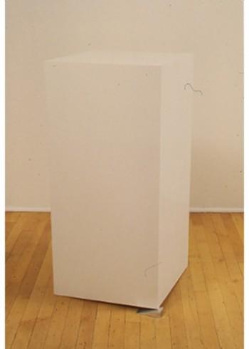 Tony Tasset, Pedestal (leveled)