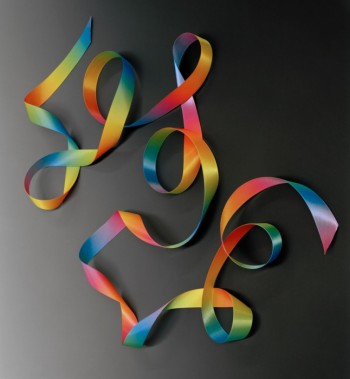 Jessica Labatte, Untitled (Gradient Ribbon)