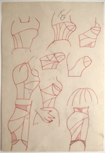 Christina Ramberg, Untitled Torsos