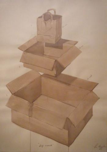 Los Carpinteros, Dibujo Reciclible