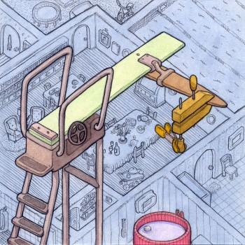 "Scott Teplin, how something works, ""cantilever"""