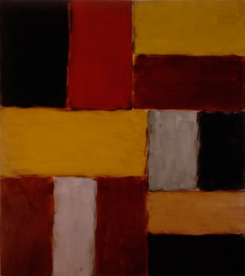 Sean Scully, Red Bar