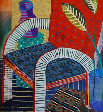 Austin Eddy, Red chair