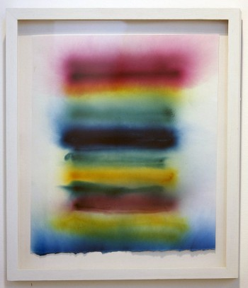 Lauren Anderson, Untitled (Smoke Bomb Drawing)