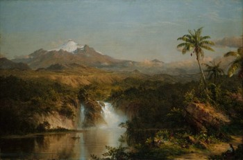 Frederic Edwin Church, View of Cotopaxi