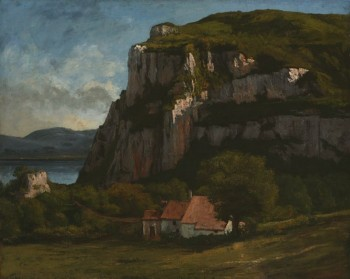 Gustave Courbet, The Rock of Hautepierre