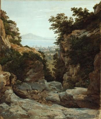 Heinrich Reinhold, Italian Landscape