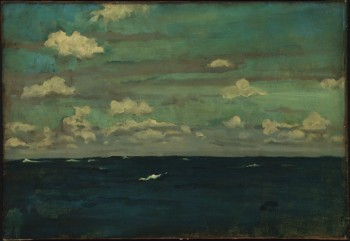 James McNeill Whistler, Violet and Silver - The Deep Sea