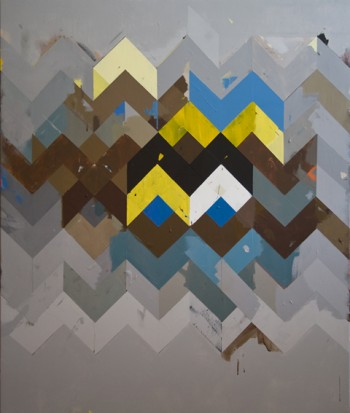 Jeff Depner, Reconfigured Grid Painting No. 10