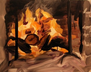 Diane Carr, Fireplace