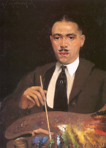 Archibald Motley Jr., Self Portrait