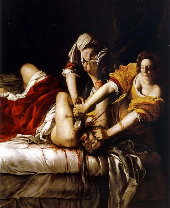 Artemisia Gentileschi, Judith Beheading Holofernes