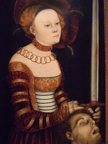 Hans Cranach, Portrait of a Lady of the Saxon Court as Judith with the Head of Holofernes
