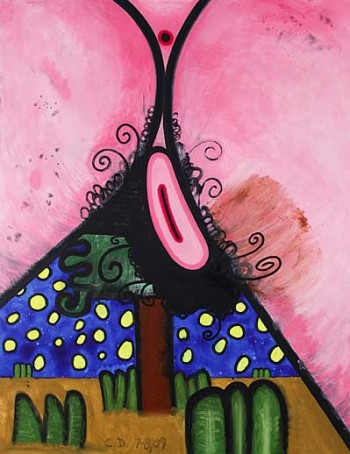 Carroll Dunham, (Hers) Night and Day #3