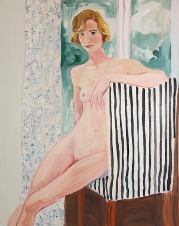 Margot Sanders, Seated Nude