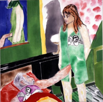 R.B. Kitaj, Los Angeles No. 22