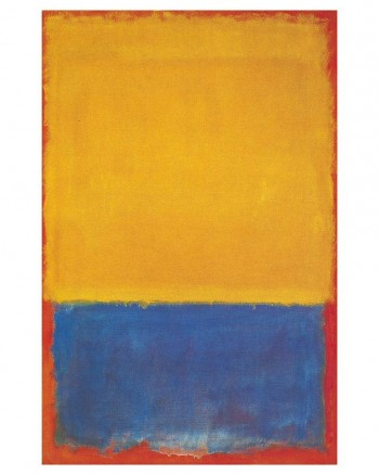 Mark Rothko, Yellow, Blue, and Orange