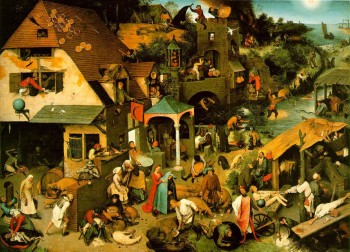 Pieter Bruegel, The Flemish Proverbs