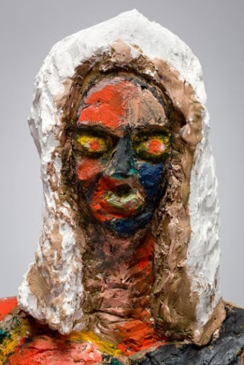 Ruby Neri, Untitled (Painted Witch)
