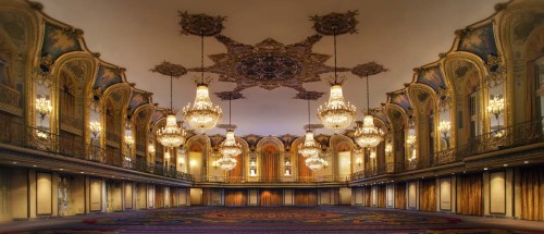 Hilton Chicago Ballroom. Site of 2014's CAA Conference in Chicago